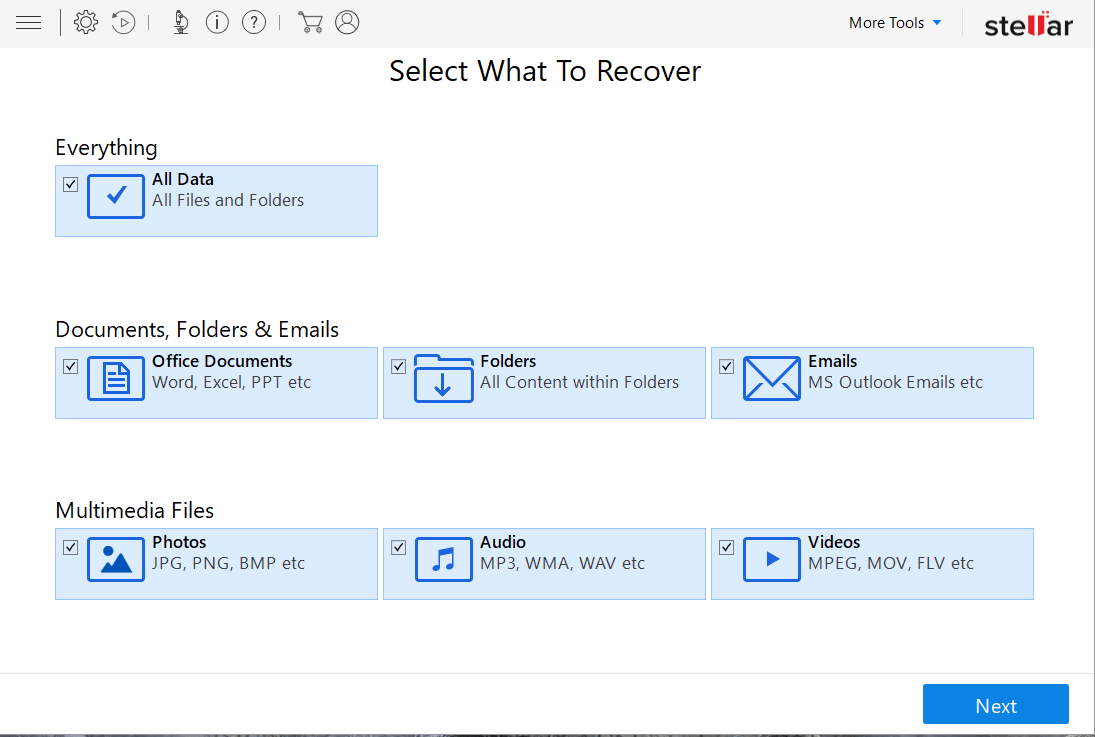 What to recover