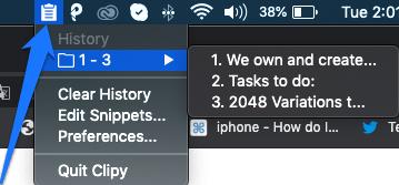 clipboard history mac