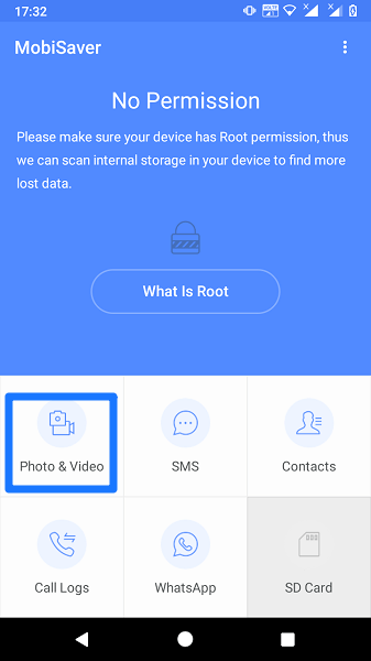Android Photo recovery without root