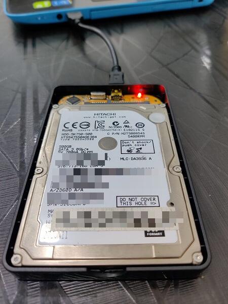 corrupted hard drive